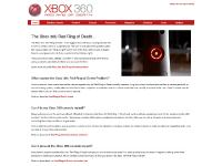 Xbox Red Ring of Death | Just another WordPress site