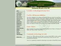 yas.org.uk Yorkshire Archaeological Society, history, archaeology