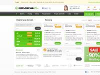 Domena.pl | Domeny, hosting, rejestracja domen