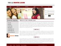 yes12monthloans.co.uk