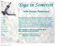 yogainsomerset.co.uk Yoga in Somerset classes workshops teachers children artistic calmness clarity Spiritual study group Nutrition cookery Flower remedies Karen Patterson details classes Wellington Bishops Lydeard Wiveliscombe Milverton various levels relax improve flexibility spiritual teachings improving physical well-being explore writing courses nutrition cookery individua