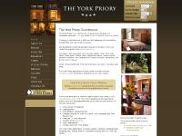 The York Priory Guest house - Official Website - York city centre - 4 star Guest House near York Minster, York Racecourse, York University, Clifford's Tower, Jorvik Viking Centre, Fairfax House, Clifford's Tower, National Rail Museum, The Bar Convent, Yor