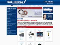 youngsindustrial.biz power transmission equipment, ball bearings, electric motors