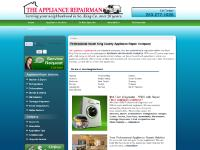 The Appliance Repairman: Repair Dishwashers, Water Heaters, Ovens, Washers in King County, Washington