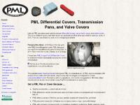 PML Dodge Front Differential Cover, differential covers, transmission pans, valve covers
