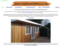 Garden Offices | Garden office | sussex | www.yourgardenoffice.co.uk
