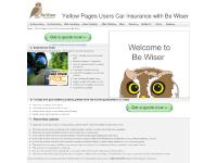 Yellow Pages Users Car Insurance with Be Wiser