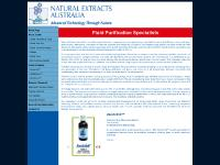 Natural Extracts Australia - fluid purification specialists using Australian zeolite