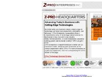 Z-Pro Enterprises, Inc. - New media services