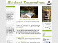 zululandreservations.co.za zululand reservations, kwazulunatal, wildlife game reserve